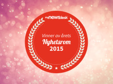 Årets nyhetsrom 2015 logo