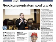 Good communicators, good brands