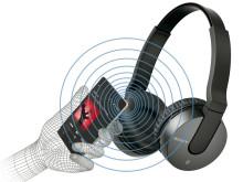 Audição simplificada: liberte-se com os novos auscultadores Bluetooth®   sem fios da Sony