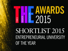 Northumbria shortlisted for prestigious awards