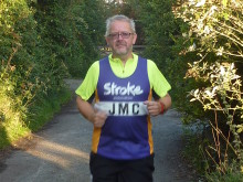 Norfolk resident takes on the Bupa Great North Run to raise funds for the Stroke Association