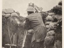 Filmfotograf i skyttegrav