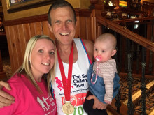 Proud Grandad Raises Hundreds to Thank  Sick Children's Trust for Support