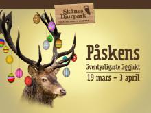 Säsongspremiär med äventyrlig äggjakt på Skånes Djurpark