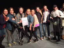 Performing Arts students win European prize