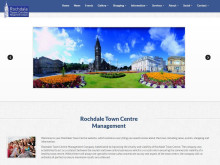 Fresh new look for town centre website