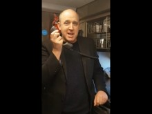 Virgin passengers stunned as comedian Tim Vine takes over tannoy