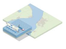 Ingen fjärrvärmeledning under Öresund