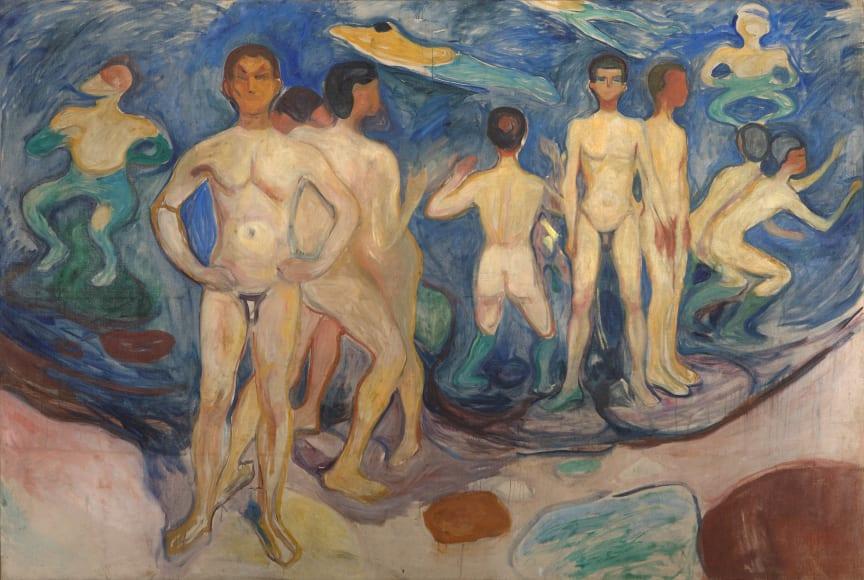 Bathing Young Men, 1904
