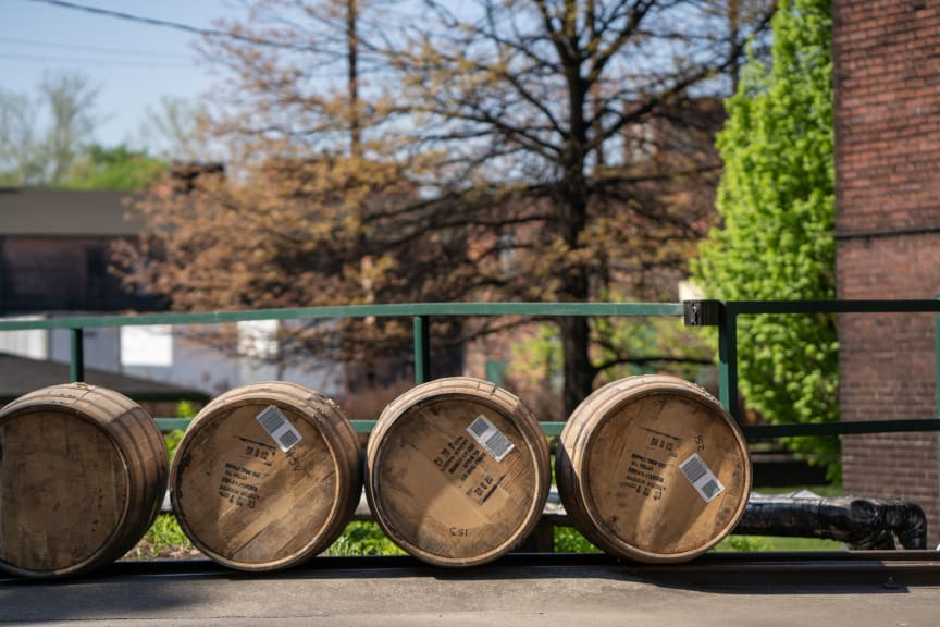 Buffalo Trace Distillery Barrels