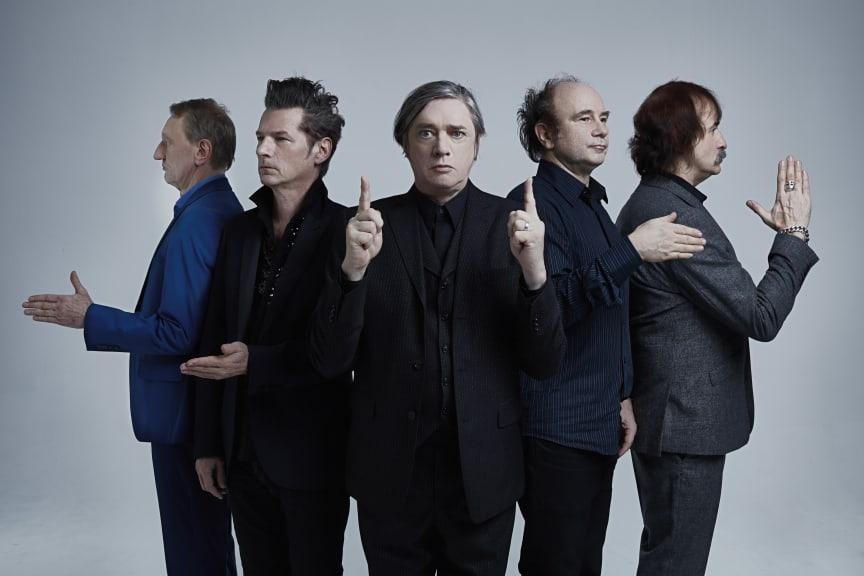 Einstürzende Neubauten spelar på Stora Scenen 11 september 2020