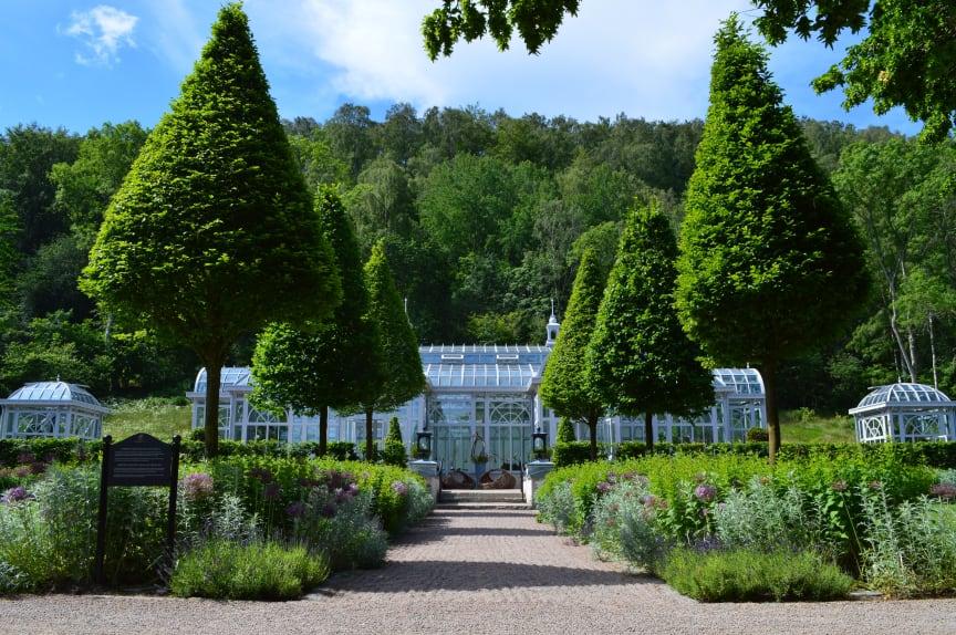 Victoriahuset på Norrvikens trädgårdar