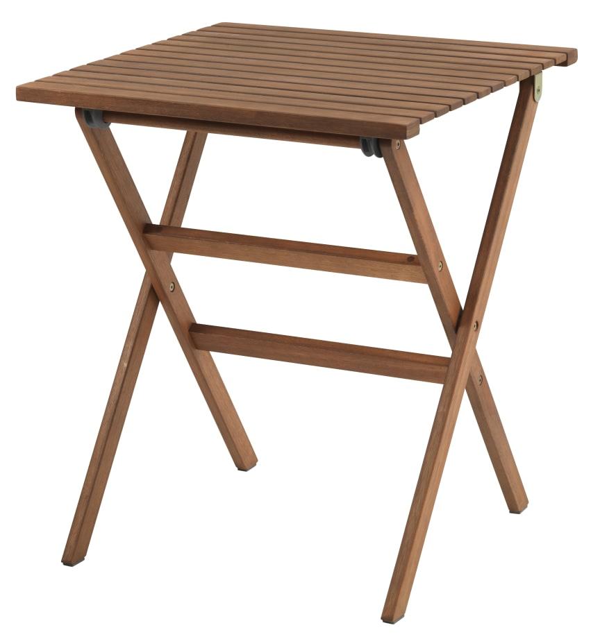 Parvekepöytä VEN L62xP62 kovapuu