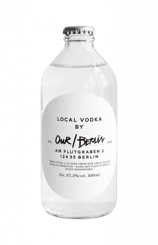 Our/vodka bottle