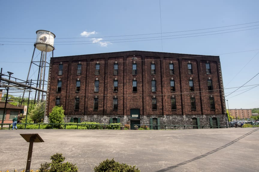 Buffalo Trace Distillery warehouse