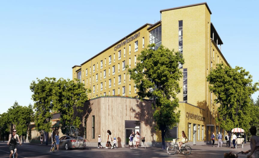 Riksbyggens Brf Cykelverkstaden