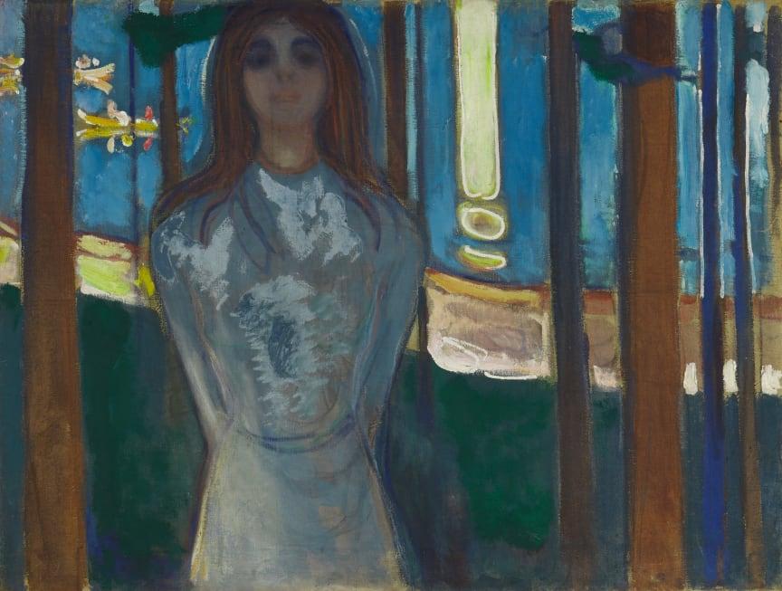 Summer Night. The voice, 1896