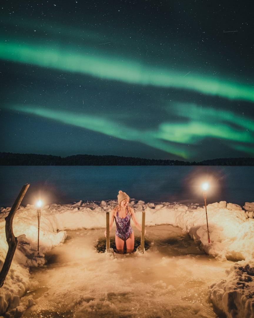 Visit Rovaniemi Ice Swimming
