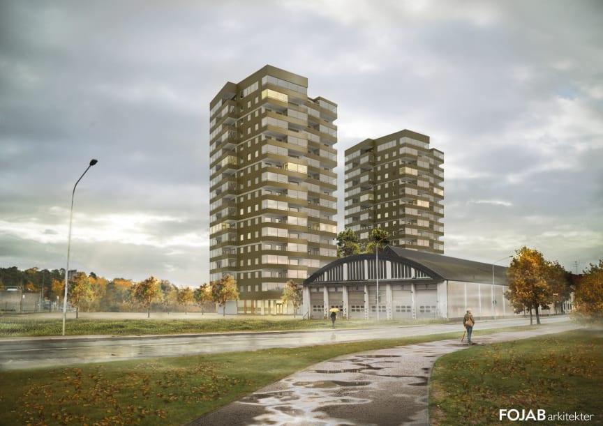 Kvarteret Triangeln, Helsingborg, Riksbyggen