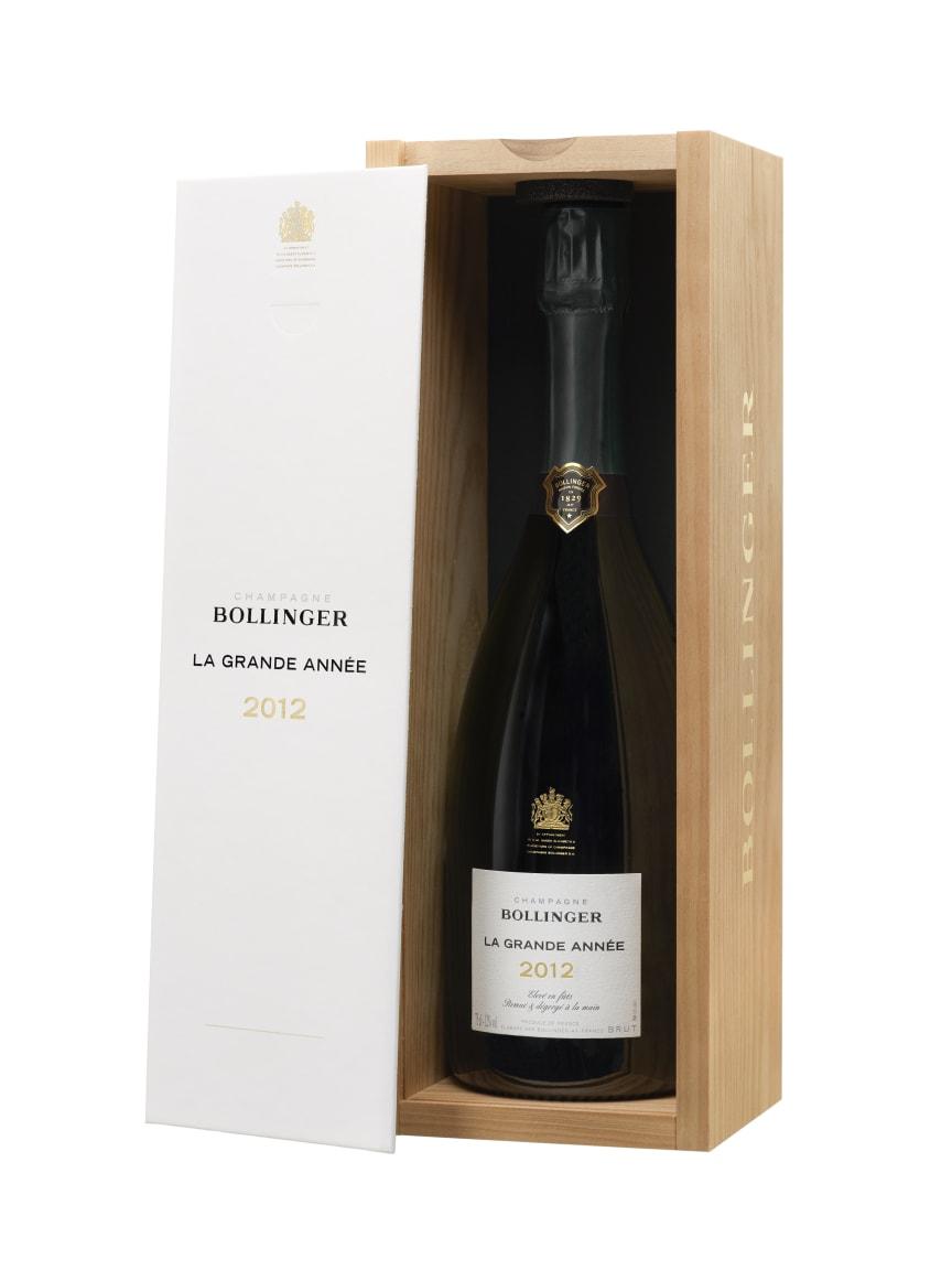 Bollinger La Grande Année 2012 flaska med låda