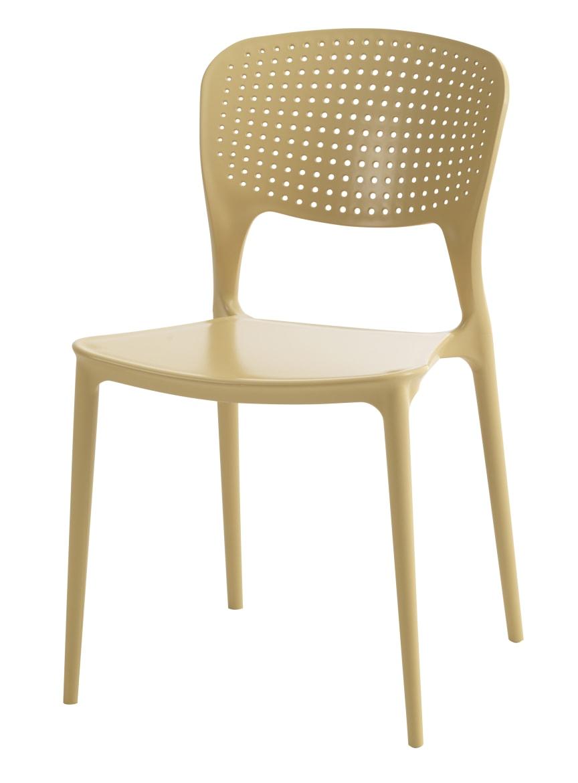 Pinottava tuoli SEJLING keltainen