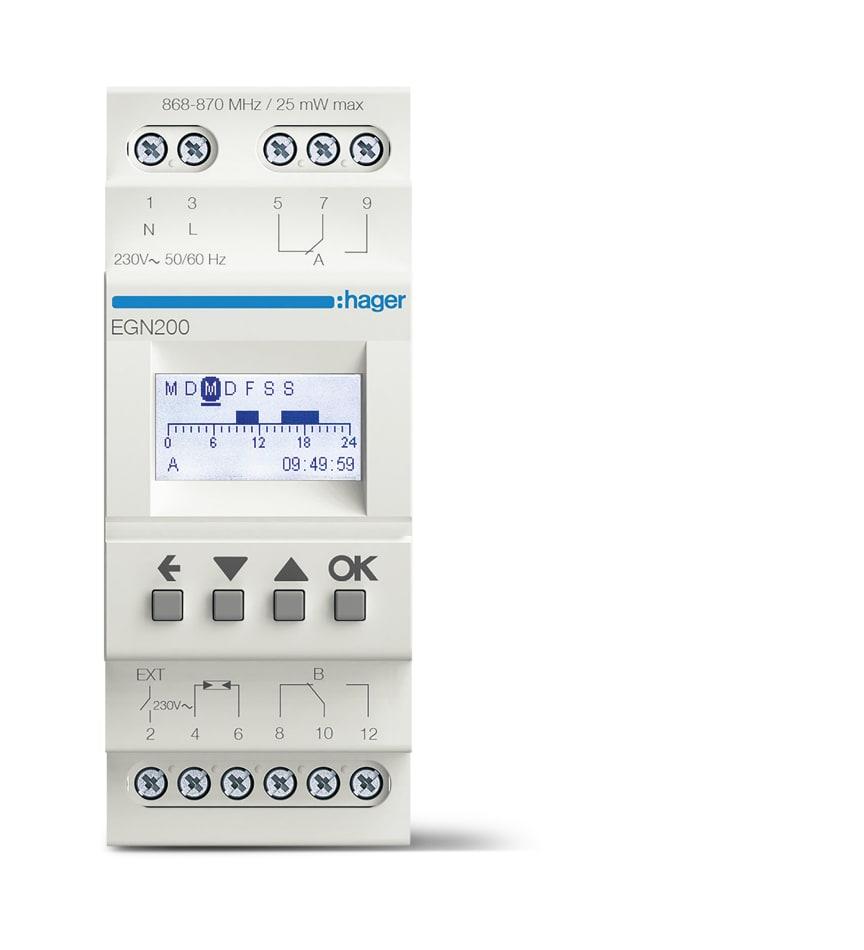 EGN200_Digitale Multifunktions-Zeitschaltuhr mit Bluetooth-Konfiguration, 2-Kanal
