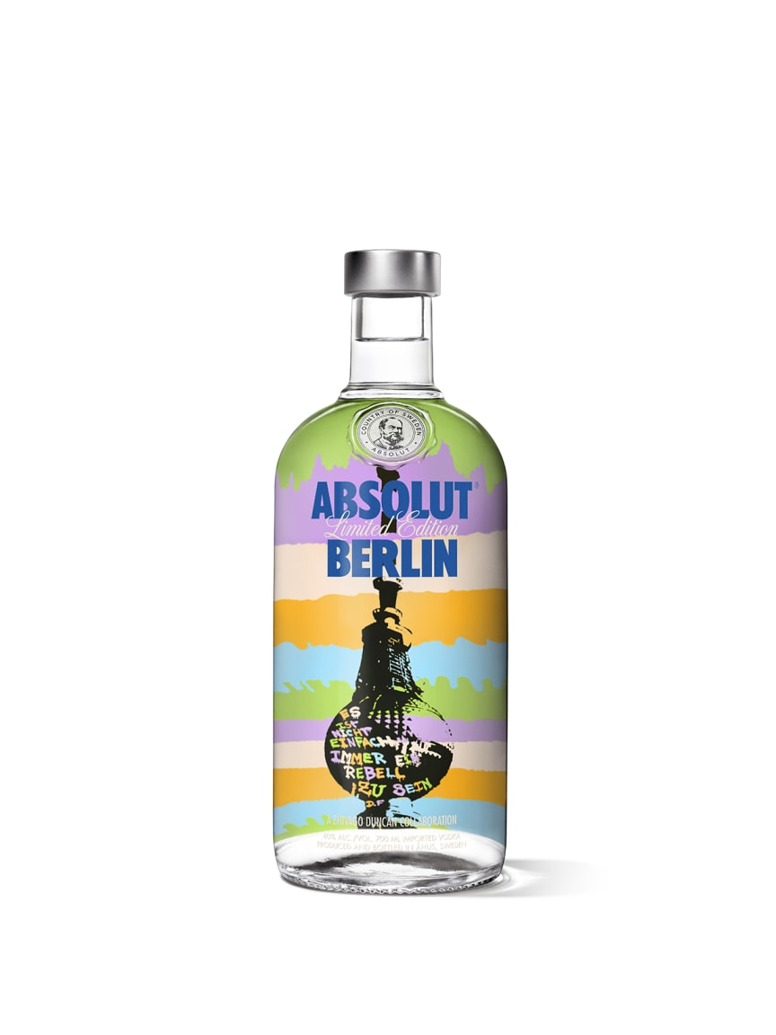 Absolut Vodka Limited Edition Berlin