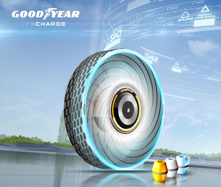 Goodyear_Recharge_Three Quarter_Background