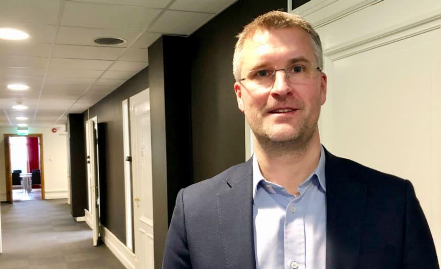 Rikard Karlsson, marknadsområdeschef, Riksbyggen, Jönköping.