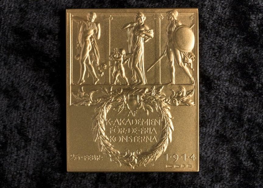 Sergelpriset 2020, medalj