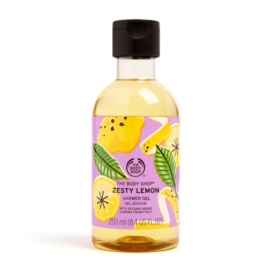 Zesty Lemon Shower Gel
