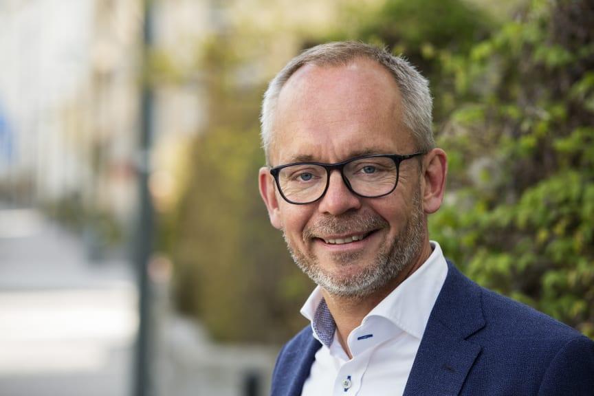Carl-Johan Hansson, chef Affärsområde Fastigheter, Riksbyggen
