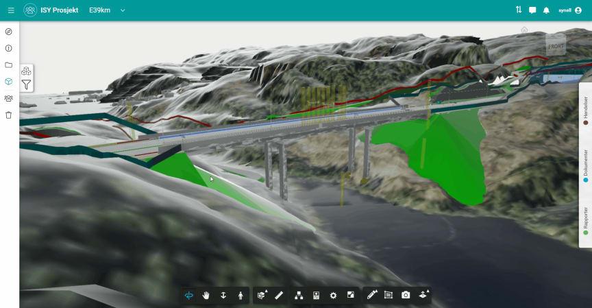 ISY Prosjekt E39-filtrering_Norconsult Informasjonssystemer