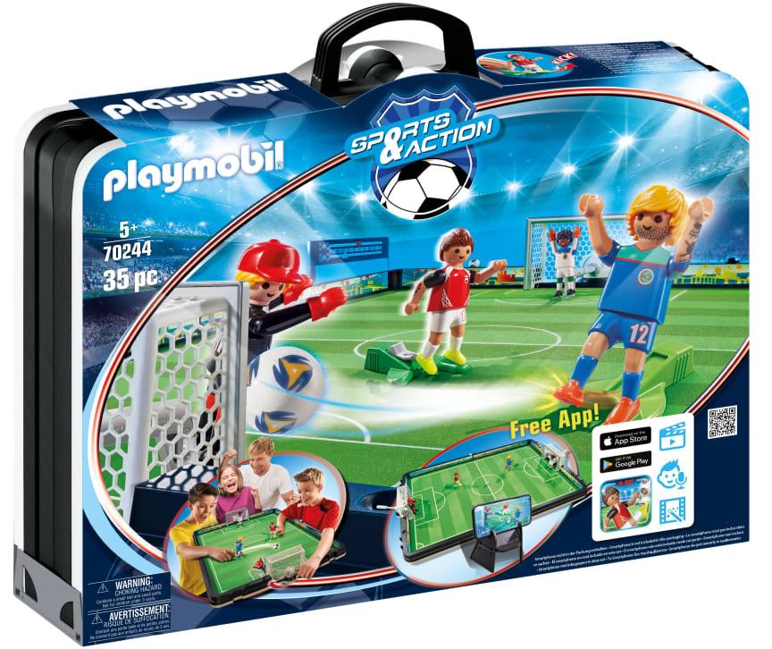 Große Fußballarena zum Mitnehmen (70244) von PLAYMOBIL
