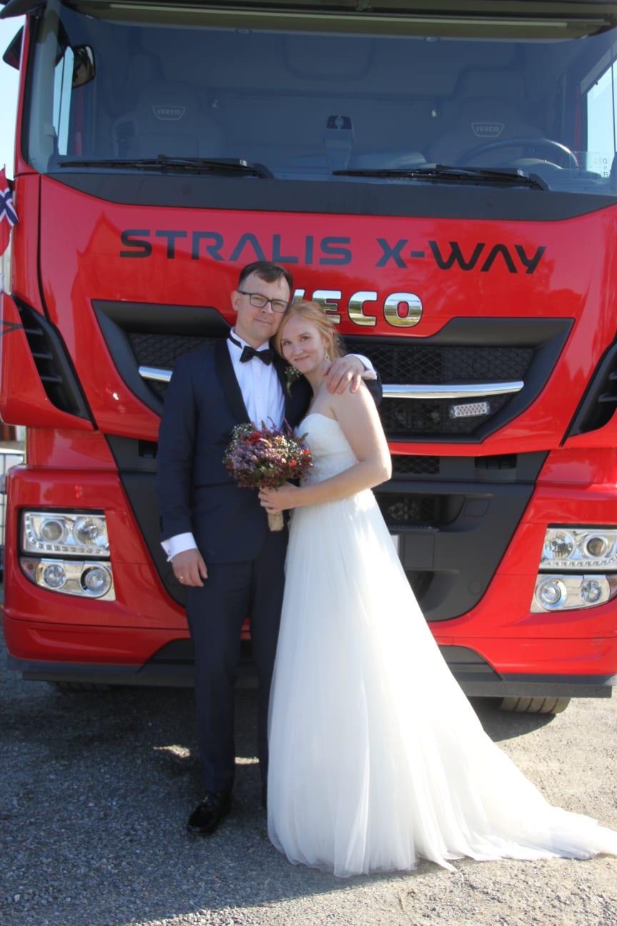 Bryllupsbil i særklasse