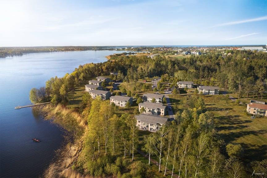 Brf Korseberg Strand; Riksbyggen, Vänersborg