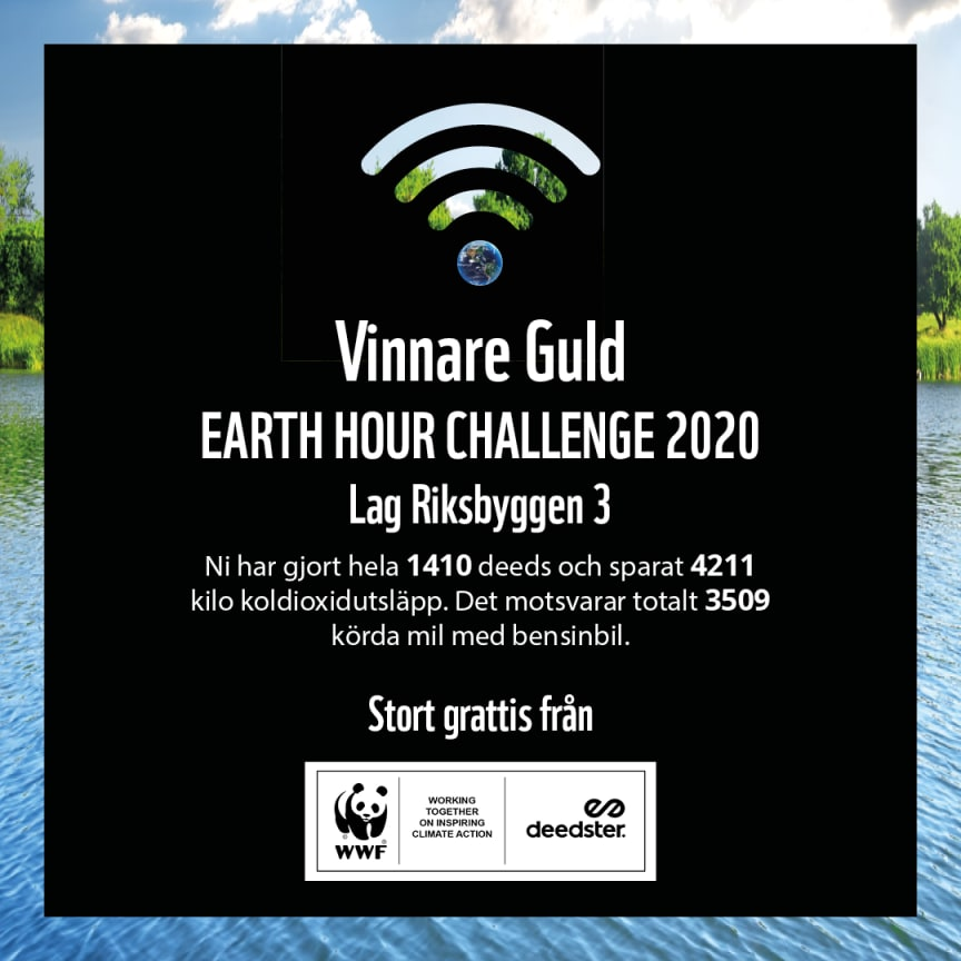 Diplom Earth Hour Challenge