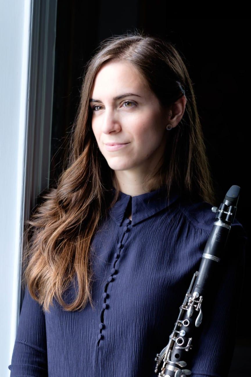 Klarinettisten Sandra Ibarreche