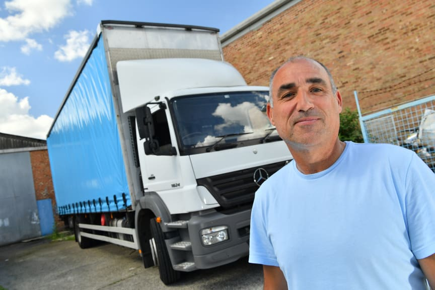 Kevin Gibson, business owner K Gibson Transport