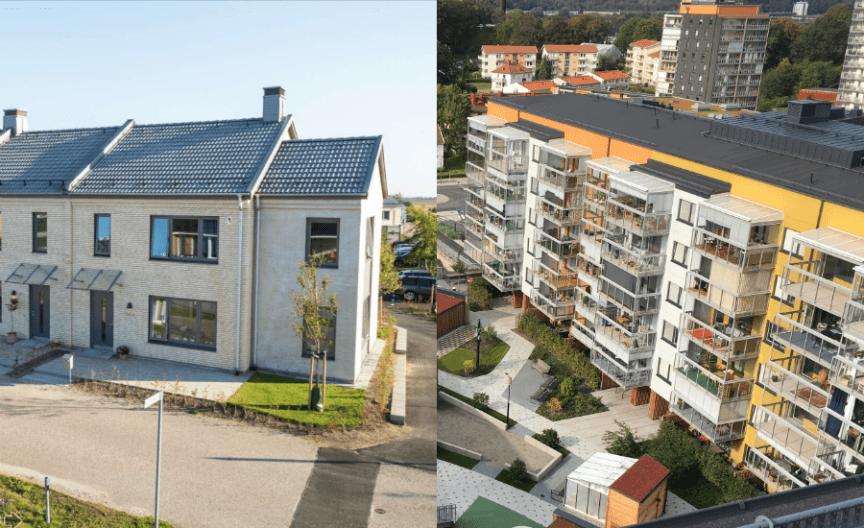 Brf Solkatten i Lund och Bonum Brf Rosenrot i Mölndal.