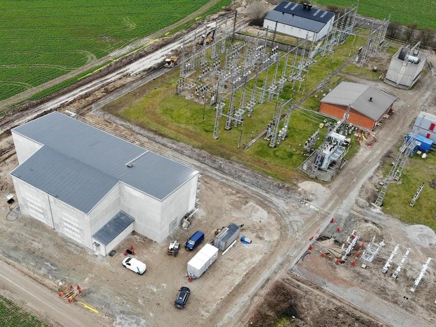 Fyrtal i stationer för Omexom i uppgradering av Trelleborgs elnät