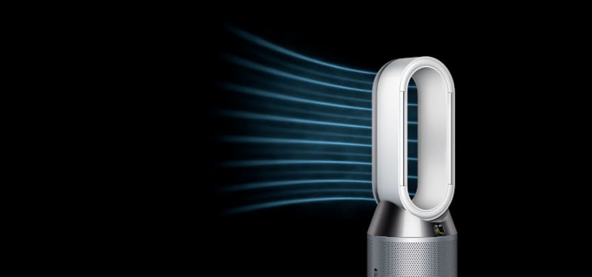 Dyson Pure Humidify+Cool - Airflow