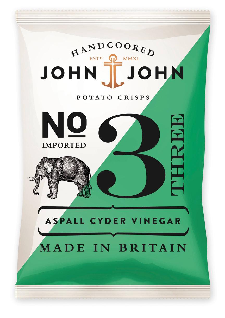 Crisps Aspall Cyder Vinegar