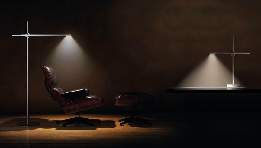 CSYS Framtidens bord- och golvlampa. Bild 1.