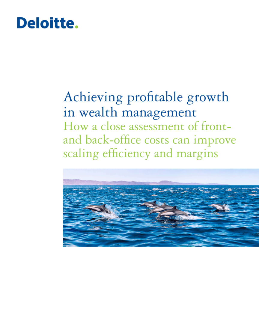Achieving Profitable Growth in Wealth Management