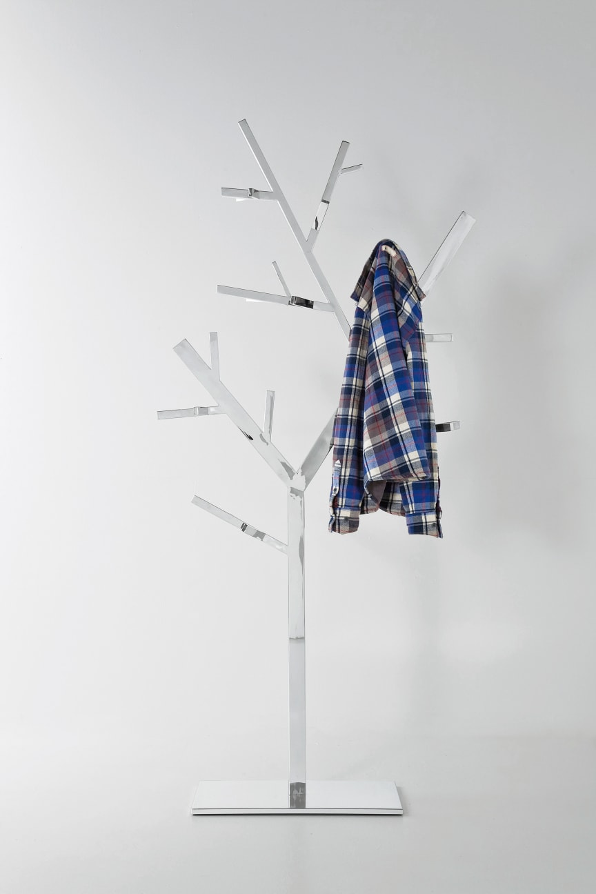 Coat Rack Technical Tree Chrome