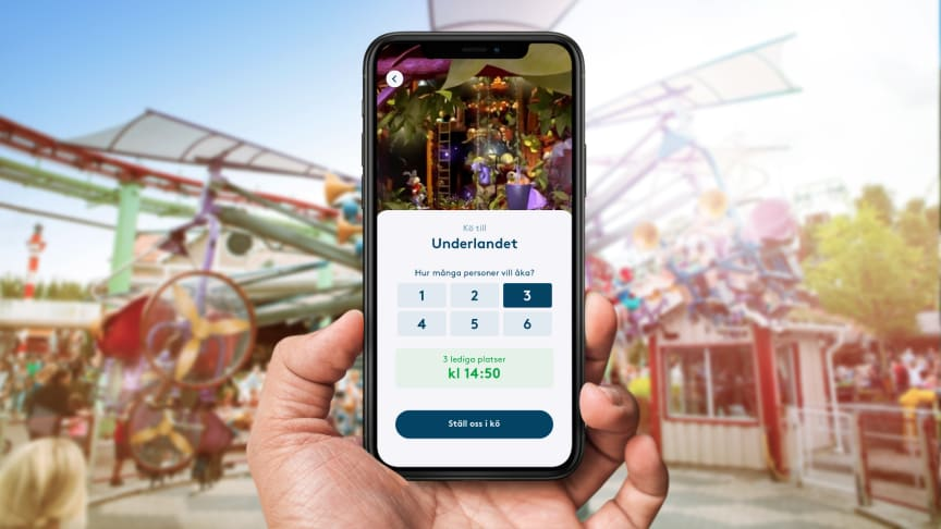 2020 lanserar Liseberg en virtuell kölösning för den nya åkattraktionen Underlandet