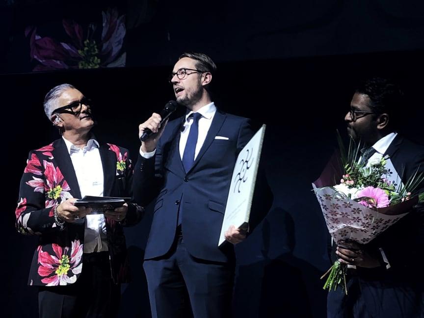 Clarion Hotel Sign tar emot Årets Hållbarhetspris