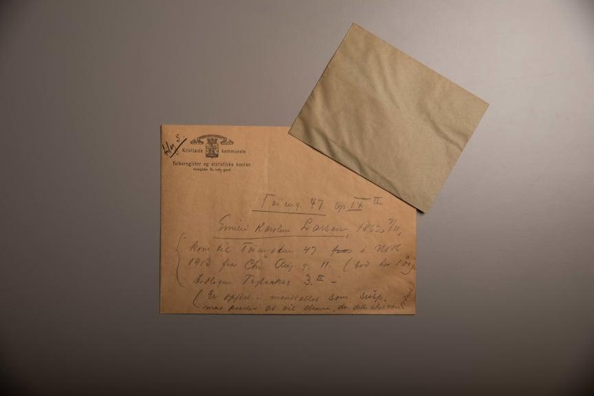 Stemmeseddel 1916