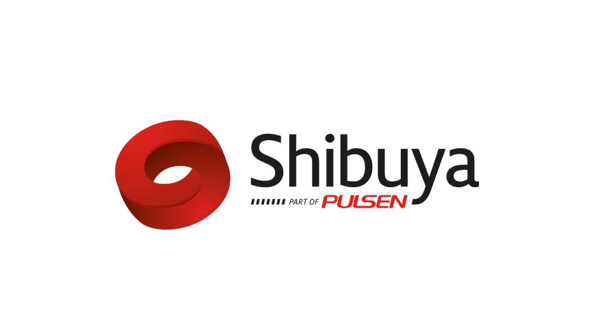 Shibuya logotyp - vit bakgrund